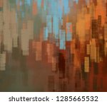 abstract random shapes. 2d... | Shutterstock . vector #1285665532