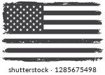 grunge american flag | Shutterstock .eps vector #1285675498