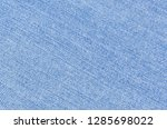 close up blue light jeans... | Shutterstock . vector #1285698022