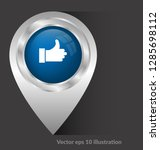 like  finger icon and map pin....