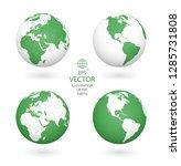 earth illustration. each... | Shutterstock .eps vector #1285731808