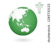 earth illustration. each... | Shutterstock .eps vector #1285733122