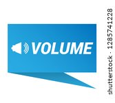 volume icon   speech bubble tag ...
