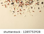 mixed brown and other types of... | Shutterstock . vector #1285752928