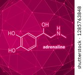 chemical molecular formula...   Shutterstock .eps vector #1285763848