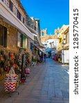famagusta  cyprus  august 28 ... | Shutterstock . vector #1285770415