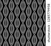 seamless black and white... | Shutterstock .eps vector #1285779958