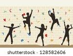 editable vector illustration of ... | Shutterstock .eps vector #128582606