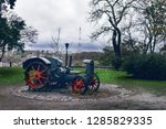 monument to the old tractor | Shutterstock . vector #1285829335
