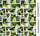 seamless vector pattern  lined... | Shutterstock .eps vector #1285844572