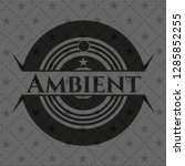 ambient dark badge | Shutterstock .eps vector #1285852255
