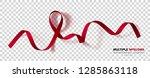 multiple myeloma awareness... | Shutterstock .eps vector #1285863118