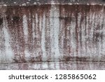 old vintage crack wall  | Shutterstock . vector #1285865062