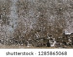 old vintage crack wall  | Shutterstock . vector #1285865068