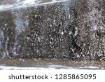 old vintage crack wall  | Shutterstock . vector #1285865095