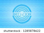 initiation water concept style... | Shutterstock .eps vector #1285878622