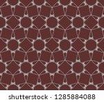 decorative wallpaper design in...   Shutterstock .eps vector #1285884088