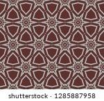decorative wallpaper design in...   Shutterstock .eps vector #1285887958