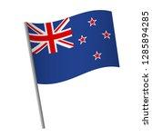 new zealand flag icon. national ... | Shutterstock .eps vector #1285894285