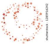 falling stars confetti... | Shutterstock .eps vector #1285916242