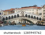 venice  italy   march 20  2018  ... | Shutterstock . vector #1285945762