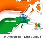 republic day celebration  26... | Shutterstock .eps vector #1285965835