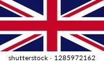 united kingdom flag | Shutterstock .eps vector #1285972162