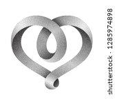 heart symbol made of... | Shutterstock .eps vector #1285974898