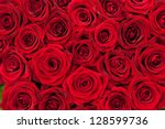Stock photo beautiful red roses 128599736