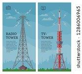 tower vector global skyline...   Shutterstock .eps vector #1286006965