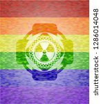 nuclear  radioactive icon... | Shutterstock .eps vector #1286014048