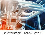 equipment  cables and piping as ... | Shutterstock . vector #1286022958