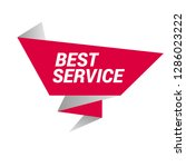 best service sign  emblem ...