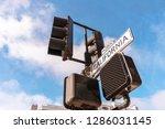 california street sign on... | Shutterstock . vector #1286031145