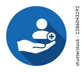 patient icon. customer icon...   Shutterstock .eps vector #1286043292