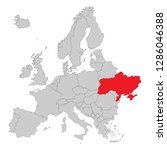 europe   political map of europe | Shutterstock .eps vector #1286046388