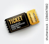 vector ticket for cinema ... | Shutterstock .eps vector #1286047882
