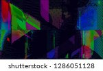 abstract vector background dot... | Shutterstock .eps vector #1286051128