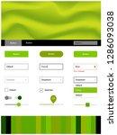 light green  yellow vector...