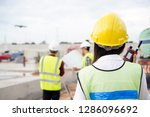 construction concept of... | Shutterstock . vector #1286096692