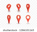 pointer vector illustration.... | Shutterstock .eps vector #1286101165