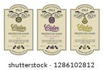 collection of labels for... | Shutterstock .eps vector #1286102812