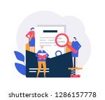 email marketing   flat design... | Shutterstock .eps vector #1286157778