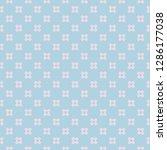funky style geometric seamless... | Shutterstock .eps vector #1286177038