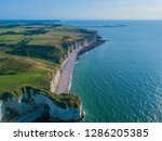 aerial drone photo of the... | Shutterstock . vector #1286205385