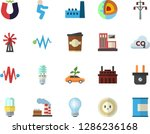 color flat icon set energy... | Shutterstock .eps vector #1286236168