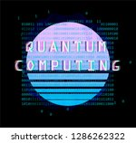 cyberpunk futuristic style...   Shutterstock .eps vector #1286262322