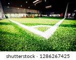 corner line of an indoor... | Shutterstock . vector #1286267425