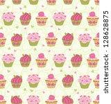 seamless pattern made of... | Shutterstock .eps vector #128628875
