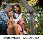 Smiling Multi Generational...